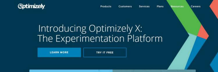 optimizely website screenshot