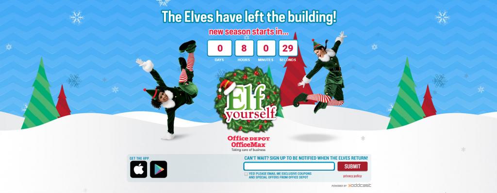 Screenshot of ElfYourself