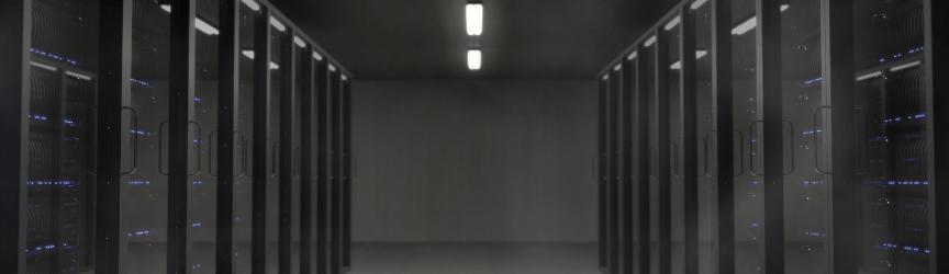 A server room for storing inbound marketing data